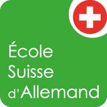 logo ecole suisse d allemand